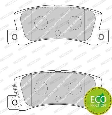 Тормозные колодки дисковые MINTEX арт. FDB4274