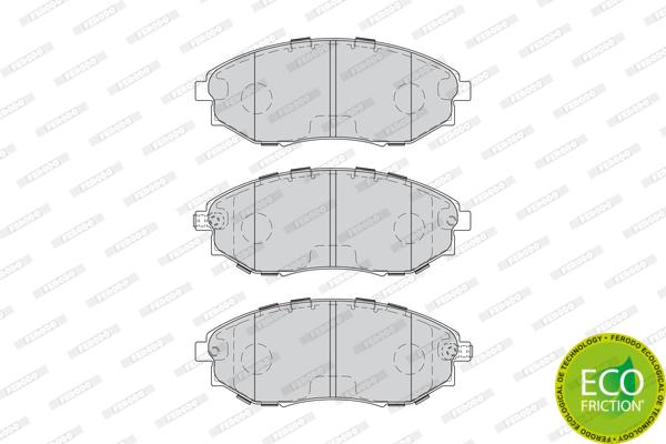 Тормозные колодки передние дисковые MINTEX арт. FDB4304