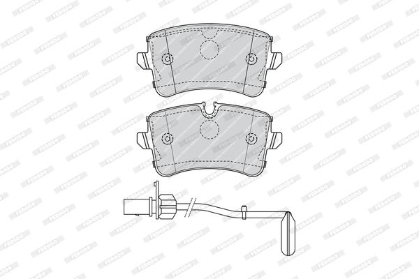 Тормозные колодки дисковые MINTEX арт. FDB4393