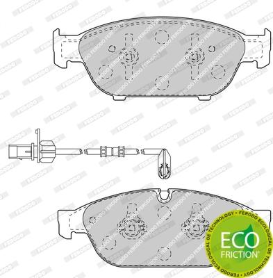 Тормозные колодки передние дисковые MINTEX арт. FDB4397