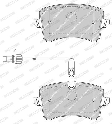Тормозные колодки задние дисковые MINTEX арт. FDB4410