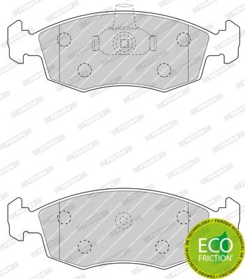 Тормозные колодки передние дисковые MINTEX арт. FDB4735