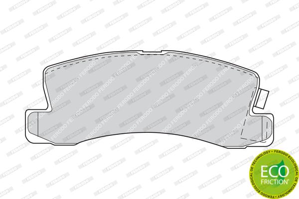Тормозные колодки дисковые MINTEX арт. FDB478
