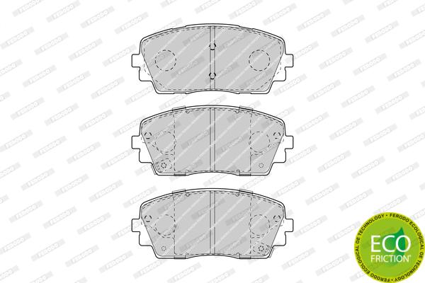 Тормозные колодки дисковые MINTEX арт. FDB4825