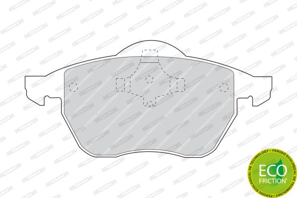 Тормозные колодки дисковые MINTEX арт. FDB969