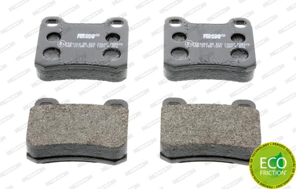Тормозные колодки задние дисковые MINTEX арт. FDB979