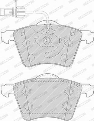Тормозные колодки дисковые MINTEX арт. FVR1484