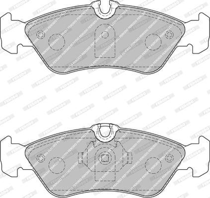Тормозные колодки дисковые MINTEX арт. FVR1876