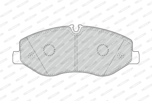 Тормозные колодки дисковые MINTEX арт. FE FVR4375