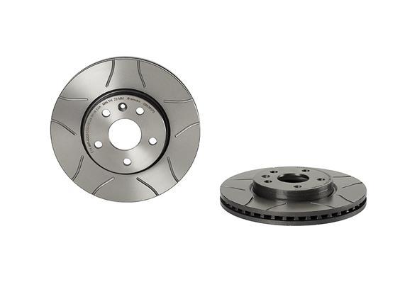 Тормозной диск MINTEX арт. 09.B355.75