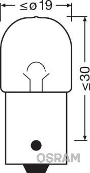 Лампа накаливания, фонарь освещения номерного знака PHILIPS арт. 5637