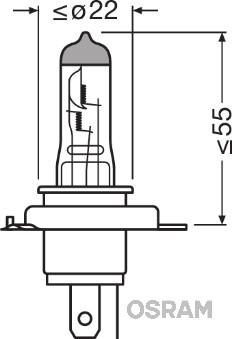 Лампа галогенная PHILIPS арт. 64193NBL