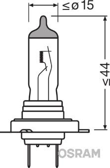 Лампа галогенная PHILIPS арт. 64210CLC