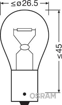 Лампа накаливания PHILIPS арт. 7511TSP
