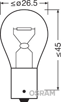 Лампа накаливания PHILIPS арт. 7507