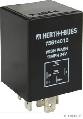 Реле, интервал включения стеклоочистителя HERTH+BUSS ELPARTS 75614013