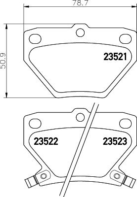 Тормозные колодки дисковые MINTEX MDB2014