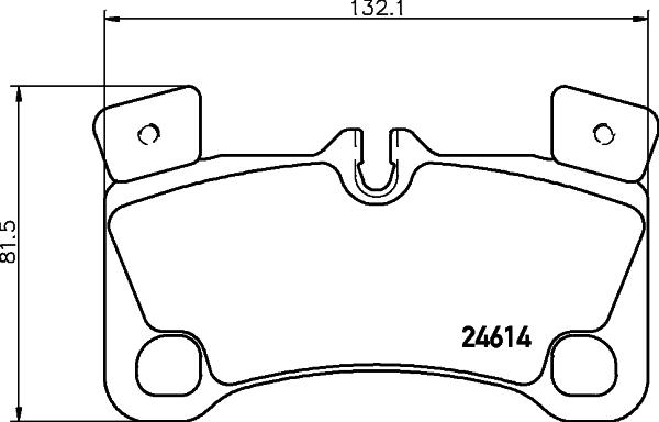 Тормозные колодки дисковые MINTEX MDB3035