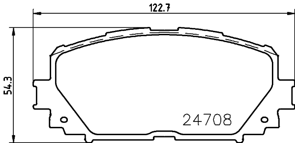 Тормозные колодки дисковые MINTEX MDB2956