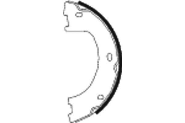 Колодки тормозные барабанные MINTEX MFR602