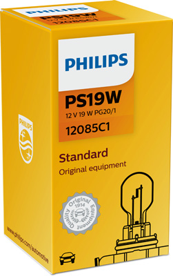 Лампа накаливания, задний противотуманный фонарь PHILIPS PS 12085 C1