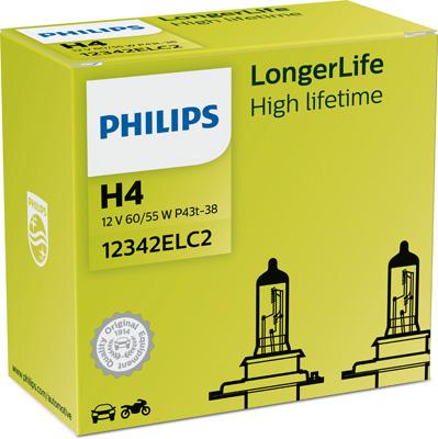 Лампа галогенная PHILIPS PS 12342 EL C2
