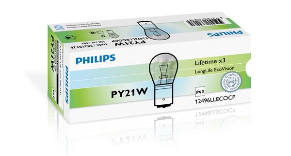 Лампа накаливания PHILIPS PS 12496 LLECO CP