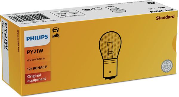 Лампа накаливания PHILIPS PS 12496 NA CP