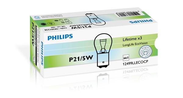Лампа накаливания PHILIPS 12499LLECOCP