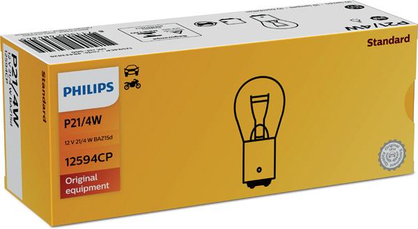Лампа накаливания, фонарь сигнала тормоза/задний габаритный PHILIPS PS 12594 CP