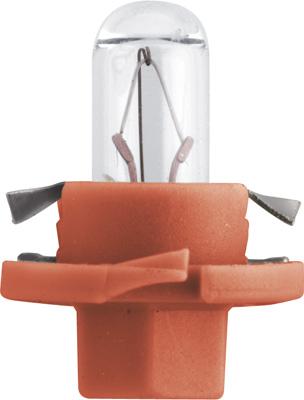 Лампа накаливания, освещение щитка приборов PHILIPS 12624