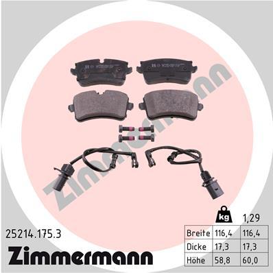 Тормозные колодки дисковые MINTEX арт. 252141753