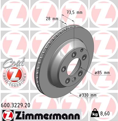 Тормозной диск MINTEX арт. 600322920