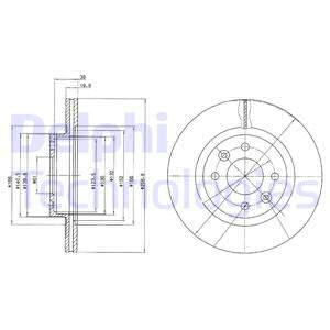 Тормозной диск MINTEX арт. BG2283