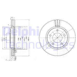 Тормозной диск MINTEX арт. BG3715