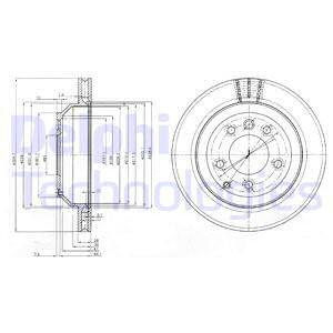 Тормозной диск MINTEX арт. BG3775C