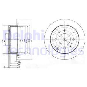 Тормозной диск MINTEX арт. BG4010