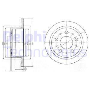 Тормозной диск MINTEX арт. BG4062
