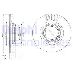 Тормозной диск MINTEX арт. BG4106