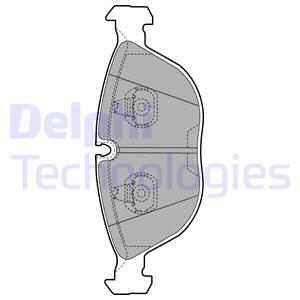 Тормозные колодки передние дисковые MINTEX арт. LP1002