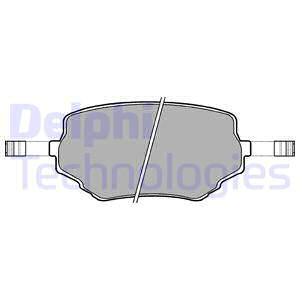 Тормозные колодки дисковые MINTEX арт. LP1015