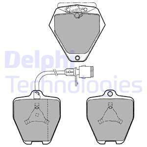 Тормозные колодки передние дисковые MINTEX арт. LP1024