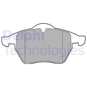 Тормозные колодки передние дисковые MINTEX арт. LP1407