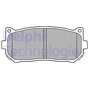 Тормозные колодки задние дисковые MINTEX арт. LP1528