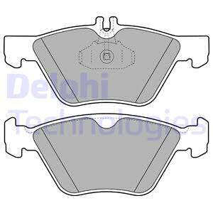 Тормозные колодки передние дисковые MINTEX арт. LP1589