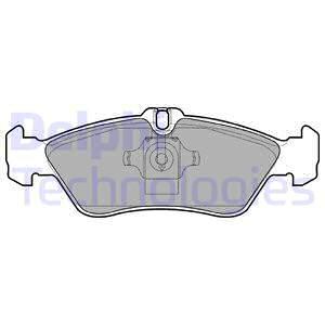 Тормозные колодки задние дисковые MINTEX арт. LP1596