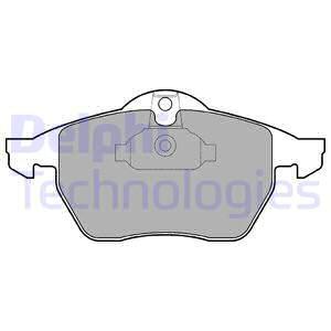 Тормозные колодки дисковые MINTEX арт. LP1600