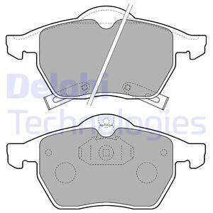 Тормозные колодки дисковые MINTEX арт. LP1731