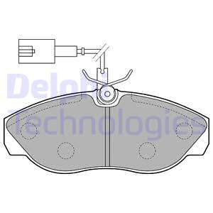 Тормозные колодки дисковые MINTEX арт. LP1748