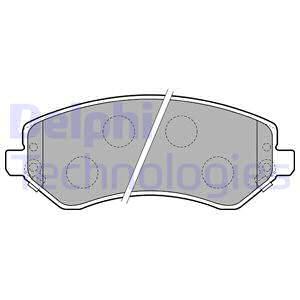 Тормозные колодки передние дисковые MINTEX арт. LP1773